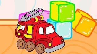 Развивающий мультфильм-раскраска для малышей - Мои игрушки. Серия 1