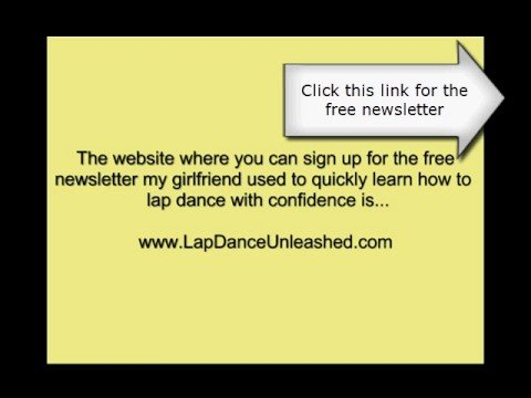 learn how to give a lap dance