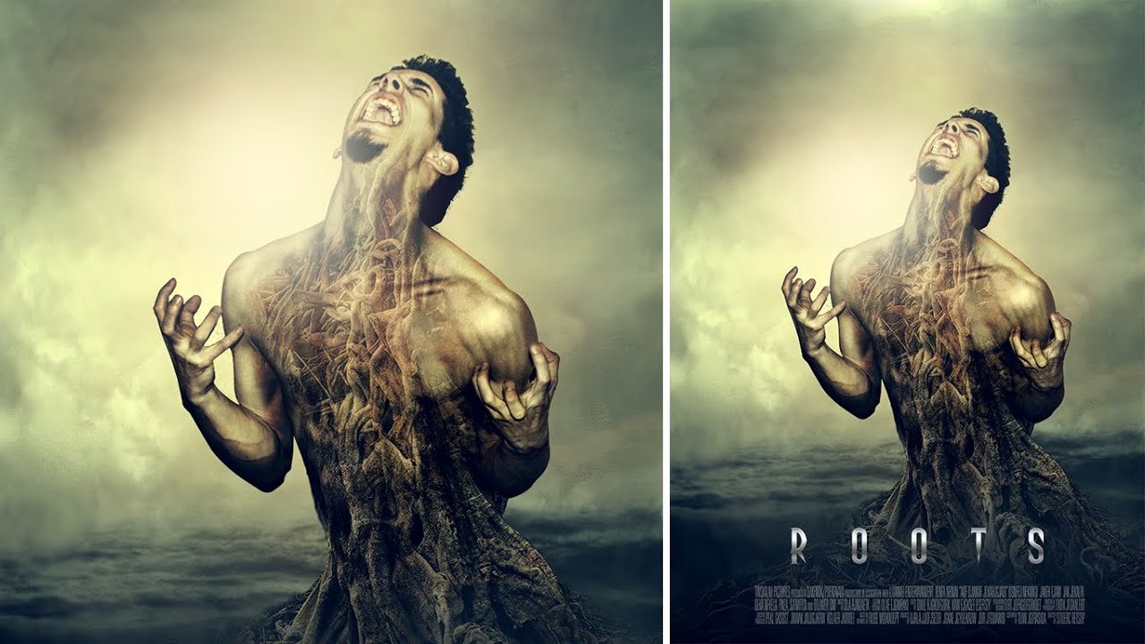 how to apply movie effect color tone on a portrait for ...