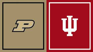 First Half Highlights: Indiana at Purdue | Big Ten Basketball