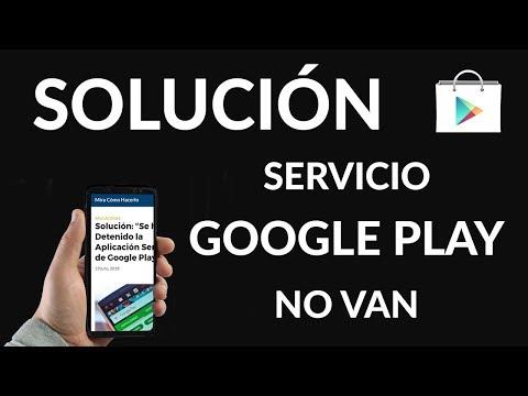 """Solución: """"Se ha Detenido la Aplicación Servicios de Google Play"""""""