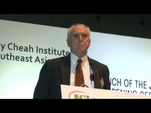 JCI Conference - Panel 1: Professor Dwight Perkins