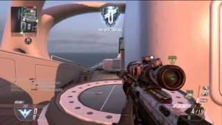 ITS OVER 9000!!...Subscribers!! BEAST Sniper Streak in Black Ops 2 *BO2*