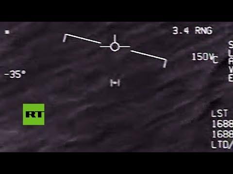 Video desclasificado de un ovni captado por una aeronave de EE.UU.