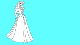 Sleeping Beauty -- Princess Aurora -- How to draw Sleeping Beauty -- How to draw Princess Aurora