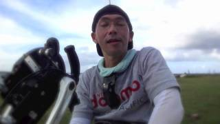 Hand- Cyclist to circle Guam Interview インタビュー編