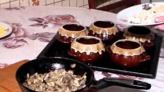 Как приготовить Жульен с грибами и курицей, рецепт