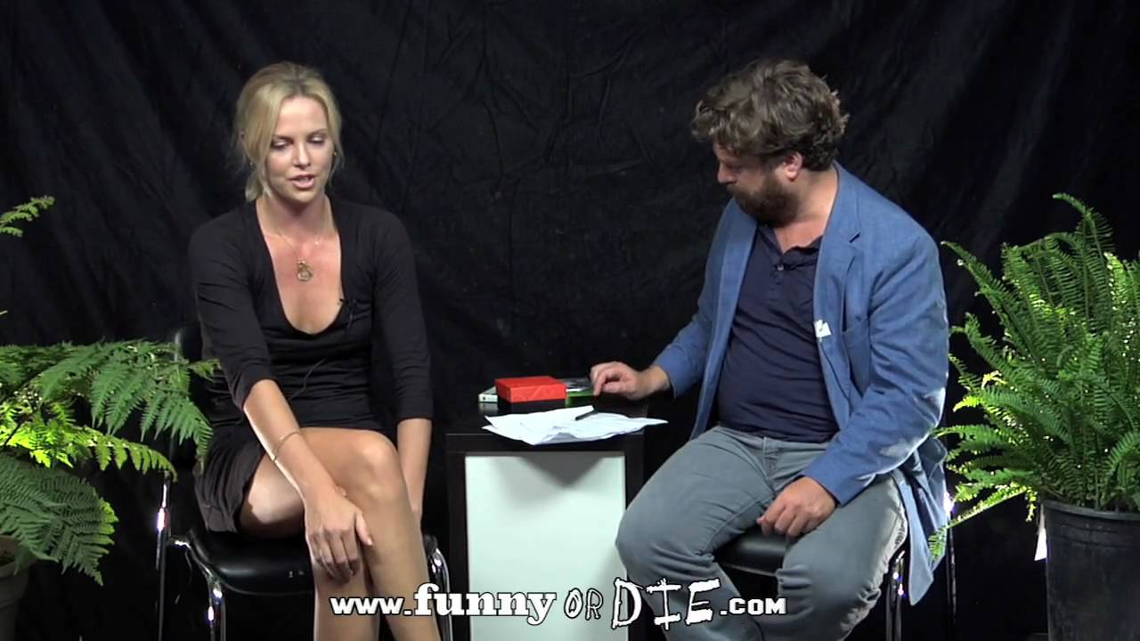 Charlize Theron Between Two Ferns With Zach Galifianakis -3473