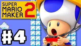 Super Mario Maker 2 - Gameplay Walkthrough Part 4 - Jobs for Toads! (Nintendo Switch)