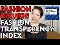FASHION THOUGHTS 30 - Fashion Revolution's Fashion Transparency Index