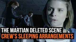The Martian deleted scene - Hermes crew discuss sleeping arrangements