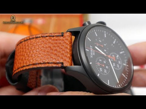 UNBOXING 2019 TISSOT CHRONO XL NBA COLLECTOR Spalding® T1166173605108