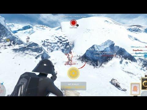 Star Wars Battlefront - Hero Pickup Fails!!! Enemy Plays Objective!!
