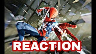 Marvel's Spider-Man - Gameplay Launch Trailer | PS4 - REACTION