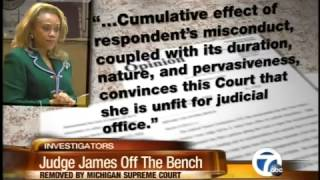 Judge Sylvia James removed from bench