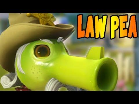 Plants vs. Zombies: Garden Warfare - Law Pea Team Vanquish DOMINATION!