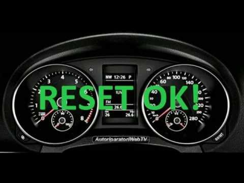 RESET AZZERAMENTO SERVICE VOLKSWAGEN GOLF E JETTA MY 2012.mp4 - YouTube