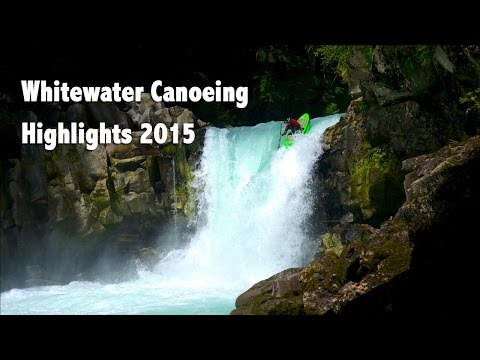 Whitewater Canoeing with Team Blackfly