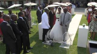 Ludo and Mmoloki   Botswana Wedding