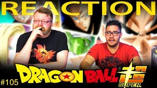 Dragon Ball Super [ENGLISH DUB] REACTION!! Episode 105