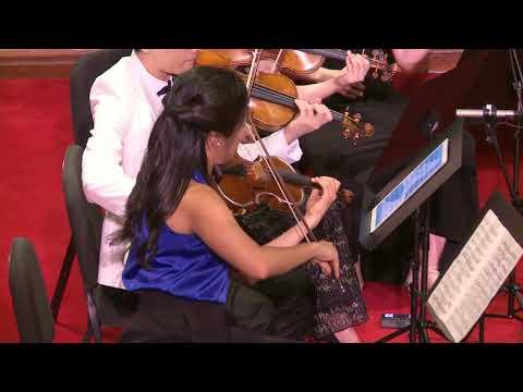 Mendelssohn Octet, Op. 20, first movement. Alan Alda introduction