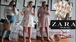Huge ZARA TRY ON HAUL | Summer 2019 | SIZE 12 GIRL MIDSIZE FASHION TRY ON Zara Haul