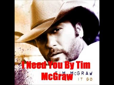 I Need You By Tim McGraw Feat. Faith Hill*Lyrics in description*