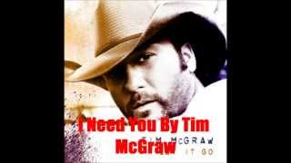 I Need You By Tim McGraw Feat. Faith Hill  *Lyrics in description*