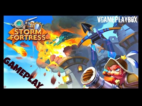 Storm Fortress : Castle War (By MINI PLAY TECHNOLOGY LIMITED) iOS / Android Gameplay Video