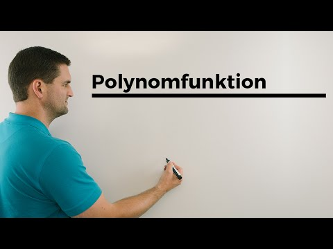 Polynomfunktion, Polynome, Begriffsklärung, ganzrationale Funktionen | Mathe by Daniel Jung from YouTube · Duration:  2 minutes 55 seconds
