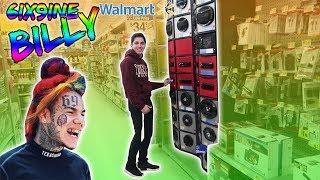 "Download lagu 6IX9INE ""BILLY"" SPEAKER PRANK IN WALMART! (DANCING)"