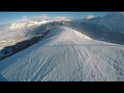 Epaule St Gervais/St NicolasDeVéroce Ski hiver 2017/2018