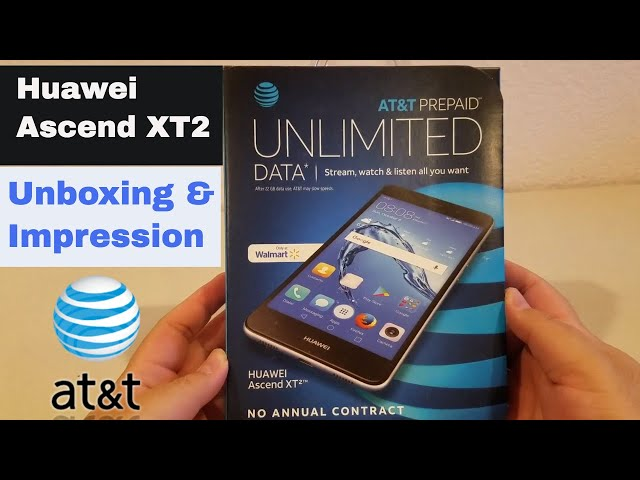 Huawei Ascend XT2: Unboxing and Impression ATT Go Phone Download