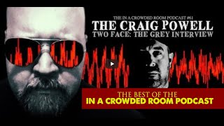 """SIR NOFACE INVESTIGATOR CRAIG POWELL DISCUSSES BEING ATTACKED BY """"THE MYSTERY MEN"""" IN HIS OWN HOME."""