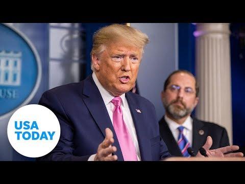President Donald Trump Addresses The Coronavirus Outbreak | USA TODAY