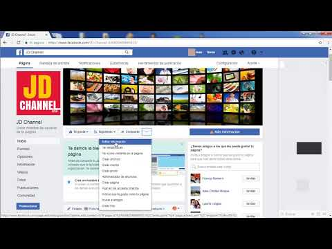 how to create a facebook fan page 2018