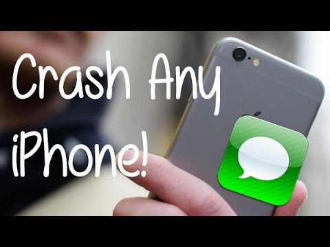crash iphone with text how to crash any iphone via text also how to fix it 5870