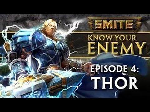 видео: smite - know your enemy - Гайд #4: thor - Тор (Субтитры)