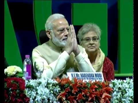 PM Modi at 52nd African Development Bank Annual meetings, in Gandhinagar, Gujarat