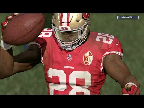 2017-2018 NFL PREVIEW SERIES PART 5: San Francisco 49ers - Madden 17 Online Gameplay