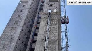 The Cliff Garden Site Progress from Aug 2018 - Jun 2019 | 1 & 2 BHK in Hinjewadi
