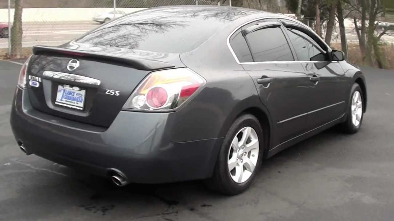 For Sale 2007 Nissan Altima 2 5s 4 Cyl Stk 110129b