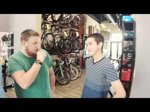 Moshe Gets a New Bike from Chai Lifeline Thanks to Bike4Chai Cyclists
