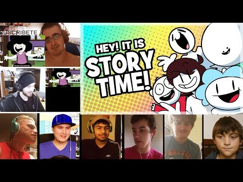 Every StoryTime Animation REACTIONS MASHUP