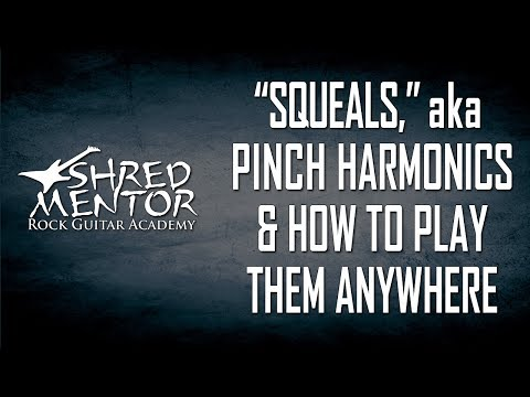 Squeals - Pinch Harmonics & How to Play Them Anywhere