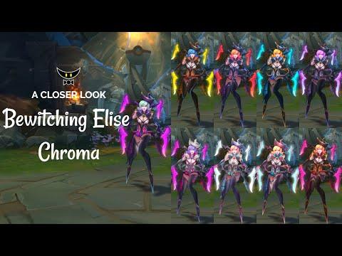 Bewitching Elise Chromas