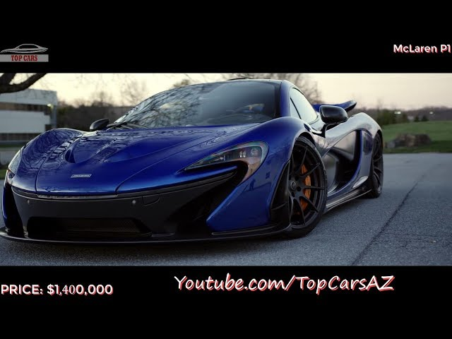Top Cars 10 The Mclaren S Most Expensive You