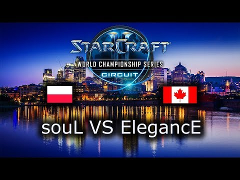 souL VS ElegancE - TvP - Group Stage 1 - WCS Montreal 2018 -