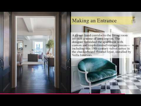 Home Tour Madison Avenue Apartment By Jennifer Vaughn Miller Youtube