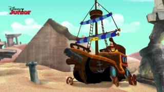 Captain Jake and the Never Land Pirates | All Aboard! | Disney Junior UK